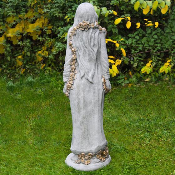 Gartenfigur Rosenmädchen Desirée gold | #2