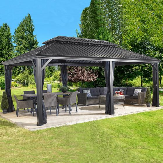 Pavillon Messina 12x20, 363x598x307 cm | #2