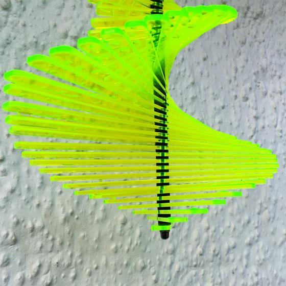 Acryl Windspiel Spirago, grün | #2