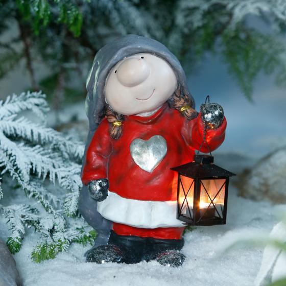 Winterwichtel Wilma mit Laterne | #2