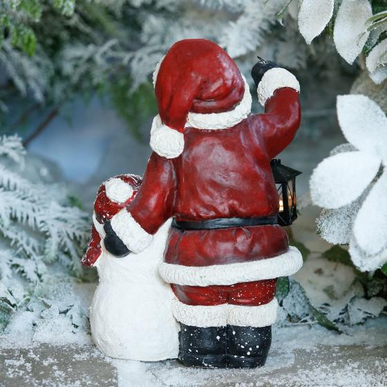 Weihnachtsmann mit Schneemann Flocki | #2