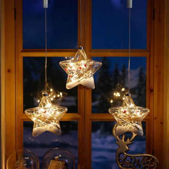 LED-Fensterdeko Schneestern | #2