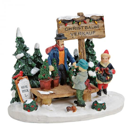 Miniatur-Christbaum-Verkaufsstand | #2