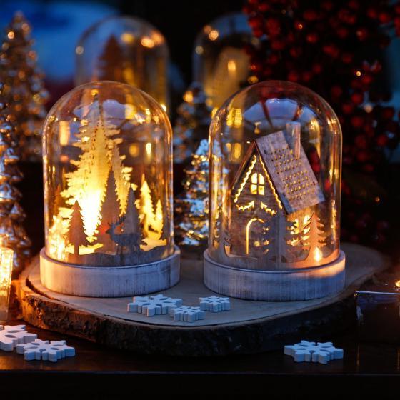 LED-Dekoration Winterwald | #2