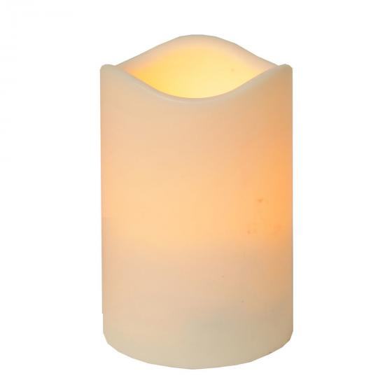 Star LED-Outdoorkerze Weihnachtszeit, 11x7 cm, Kunststoff, creme | #2
