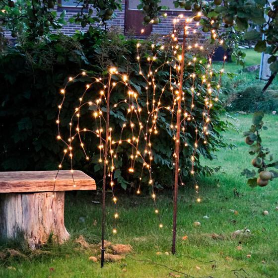 Star LED-Baum Winterweide, 150x50x50 cm, Metall und Kunststoff, braun | #2
