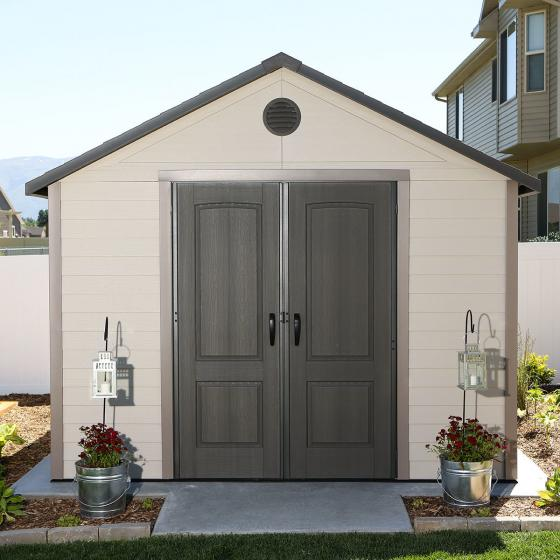 Lifetime Gerätehaus King Size, 285x337x412 cm, grau | #2