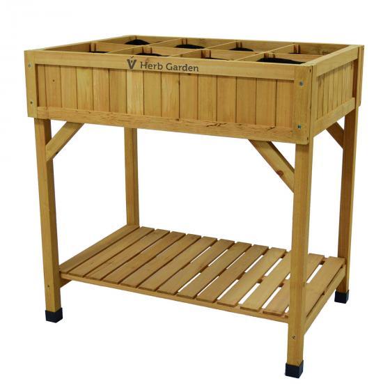 VegTrug ™ Kräuter-Hochbeet, FSC-Holz, natur, 78x58x80 cm | #2
