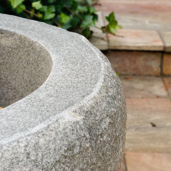 Pflanzkübel Eifel, 44x83x83 cm, Kunststein, grau | #2