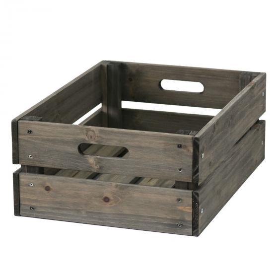 Aufbewahrungsbox 30x40x15,5 cm grau | #2