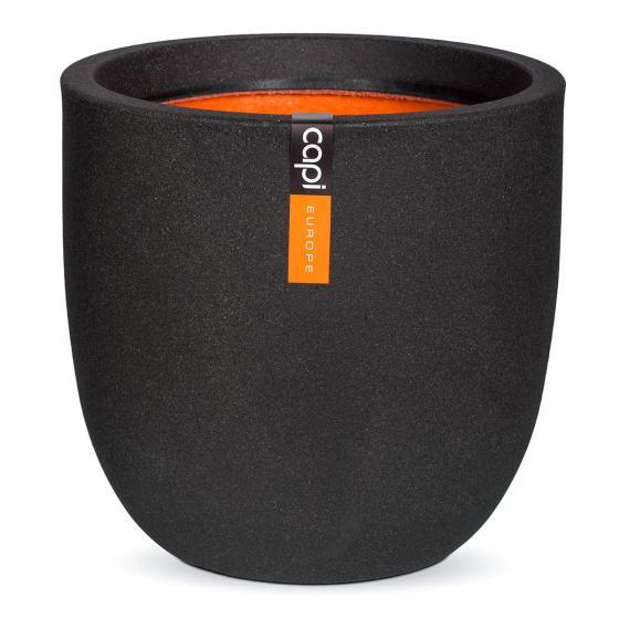 Pflanzkübel rund, 34x35x35 cm, schwarz | #2