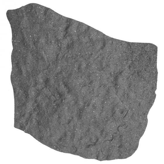 Trittstein Naturstein, 4er-Set, 45 x 55 cm, Gummi, grau | #2