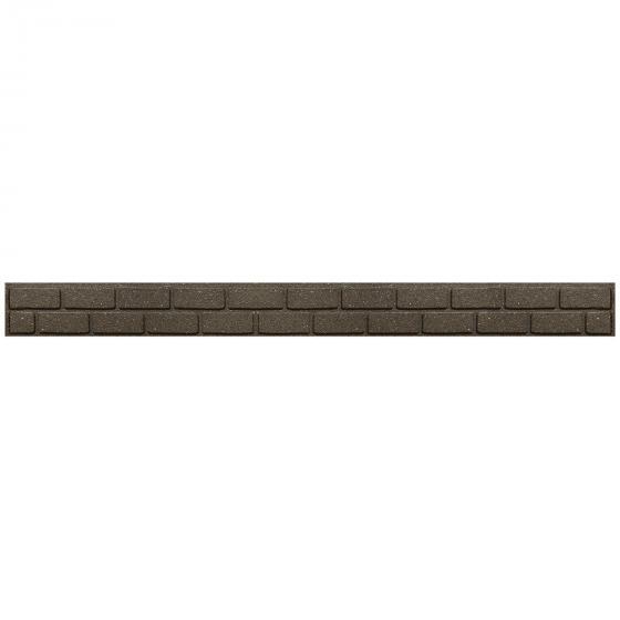 Rasenkante Mauer 6er-Set, 120 cm, braun | #2