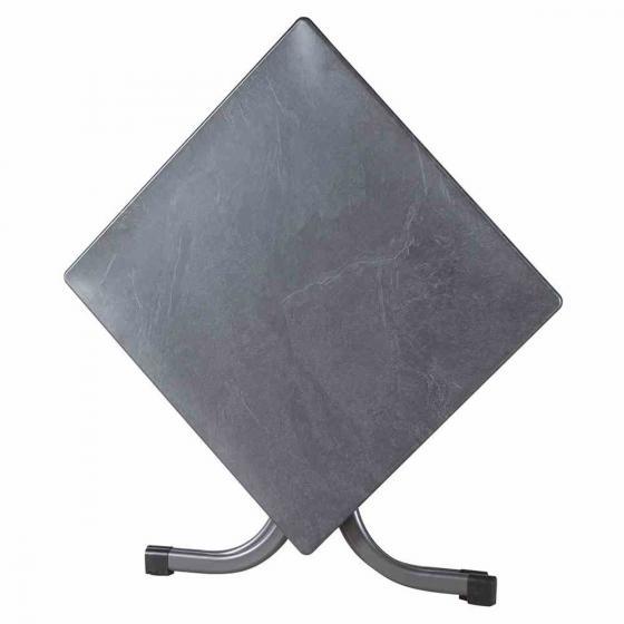 Siena Garden Slim Klapptisch, qudratisch, 72x80x80 cm, anthrazit | #2