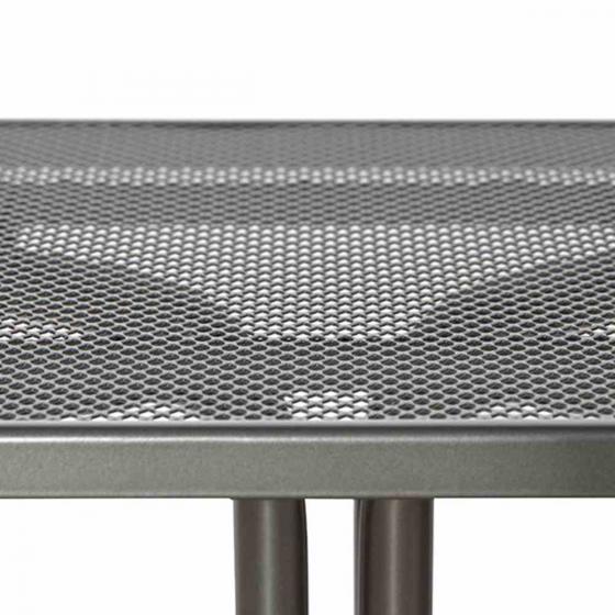 Elda Plus Tisch, 80x80x71 cm, Stahl | #2