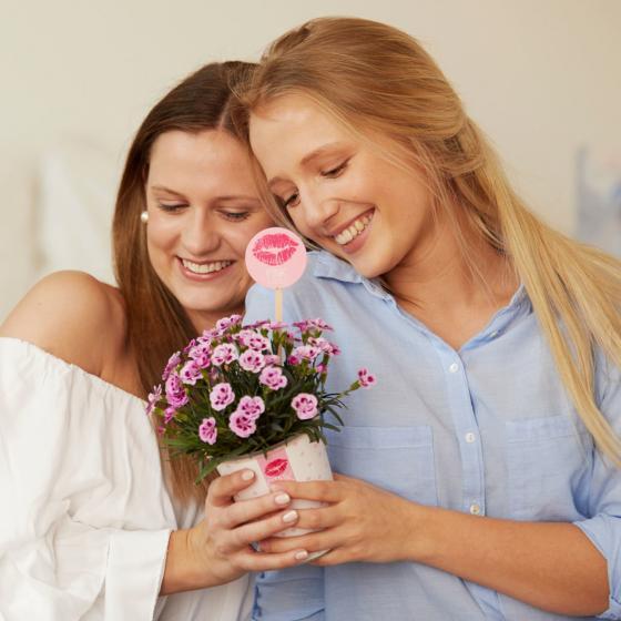 "Nelke Pink Kisses® Friendset 2 ""Sommerduft"" mit blumig duftender Körperlotion von treaclemoon | #2"