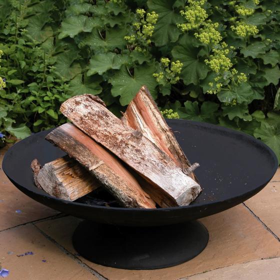 Feuerschale Basil, 18x50x50 cm, Gusseisen, schwarz | #2