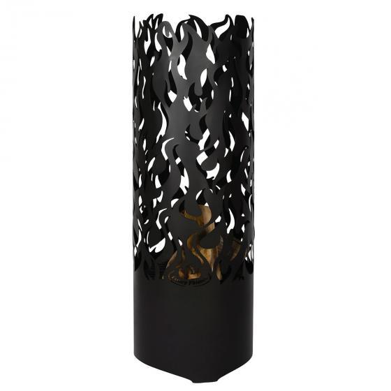 Flammentower Spector, 118x39x39 cm, Karbonstahl, schwarz | #2