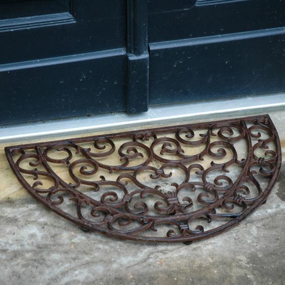 Fußmatte Viktoria, 2,3x40x69 cm, Gusseisen, braun | #2