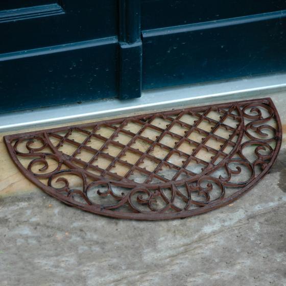 Fußmatte Marlen, 1,9x68x35 cm, Gusseisen, braun | #2