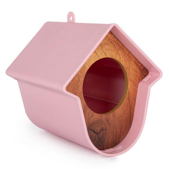 Erdnussbutterglashalter Evie, 13x15x17 cm, Kunststoff, rosa | #2