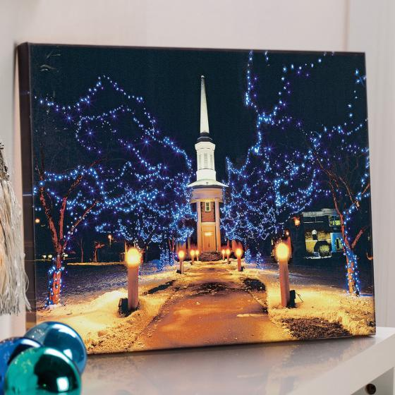 LED-Bild Winterpark, 50x2,5x36,5 cm, bunt | #2