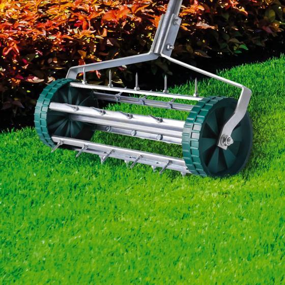 Rollender Rasenlüfter mit Stiel, 110 cm, grün | #2