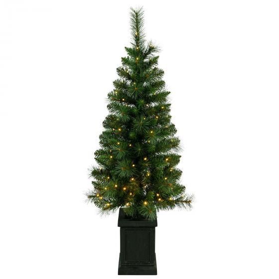 Künstlicher LED-Außen-Tannenbaum Hytte, 120x50x50 cm, Kunststoff, grün | #2