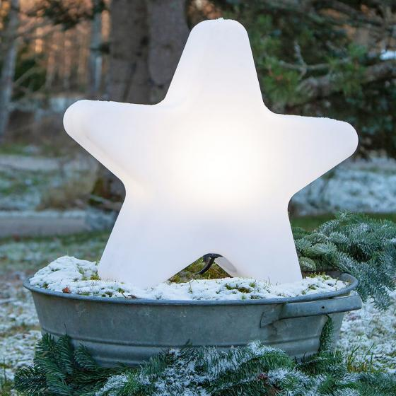 Star LED-Stern Gardenlight, 48x50x15 cm, Kunststoff, weiß | #2