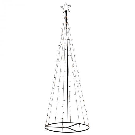 LED Lichterbaum Light Tree, 75x210 cm, Metall, schwarz | #2