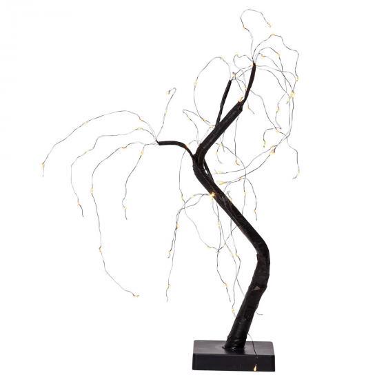 Star LED-Baum Willy, 40x25x20 cm, Kunststoff und Metall, schwarz | #2
