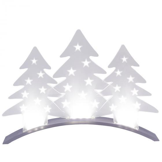 LED-Tischdekoration Plexi Trees, 40x5x29 cm, Kunststoff, transparent | #2