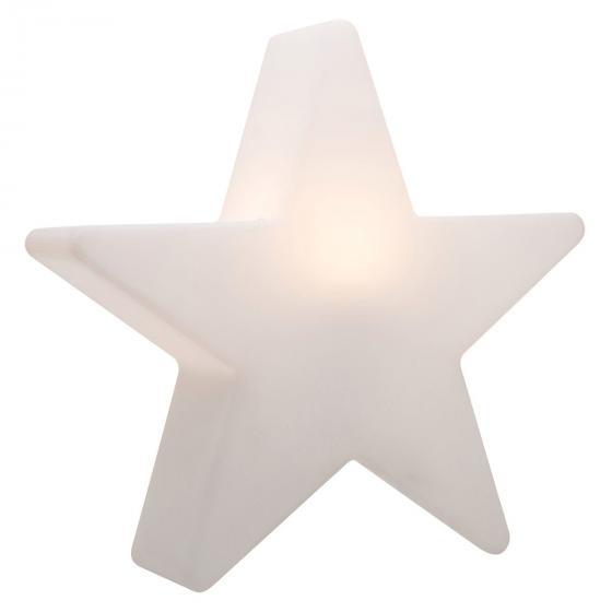 8 Season LED Shining Star, 37x38x10 cm, Polyethylen, weiß | #2