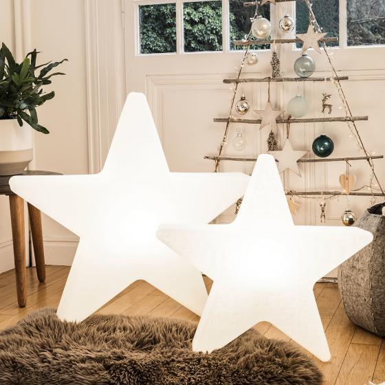 LED Shining Star, 71x74x16 cm, Polyethylen, weiß | #2