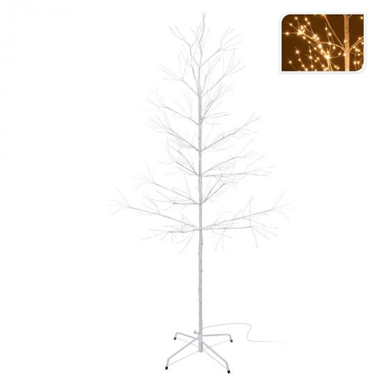 Micro-LED-Baum Snow Light, groß, 180 cm, Metall, weiß | #2