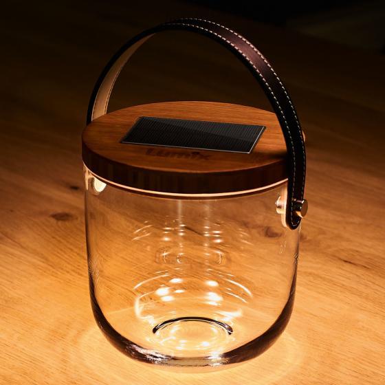Deko Glas Basic, 15x14,5x14,5 cm, Glas, Bambus, klar | #2