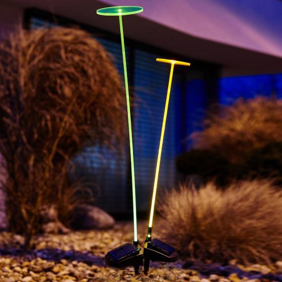 Krinner Lumix Swing Lights, 76x10x10 cm, Acrylglas, grün | #2