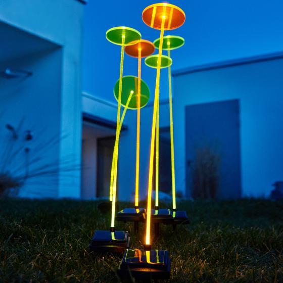 Krinner Lumix Swing Lights, 66x8x8 cm, Acrylglas, grün | #2