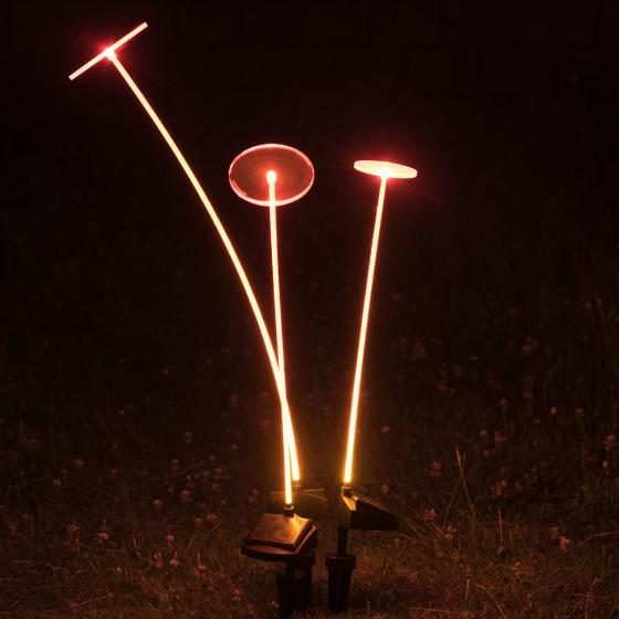 Swing Lights, 86x12x12 cm, Acrylglas, orange | #2