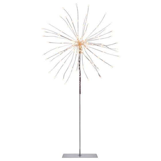 Star LED-Standleuchte Firework, 50x26x26 cm, Metall, silber | #2