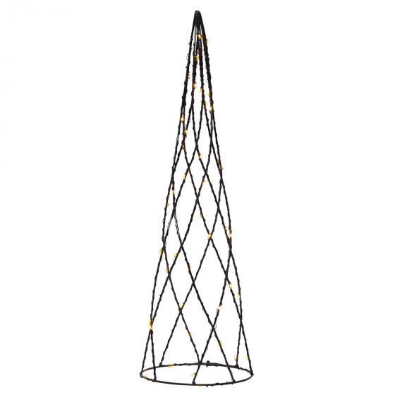 Star LED-Kegel Helix, 40x12x12 cm, Metall, schwarz | #2