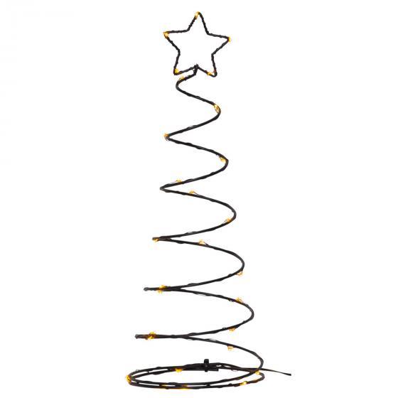 Star LED-Baum Dizzytree, 40x15x15 cm, Metall, schwarz | #2