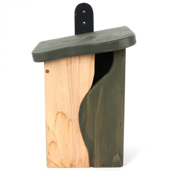 Nistkasten Baumhöhle, 19x15x25 cm,  FSC®-zertifiziertes Zedernholz | #2