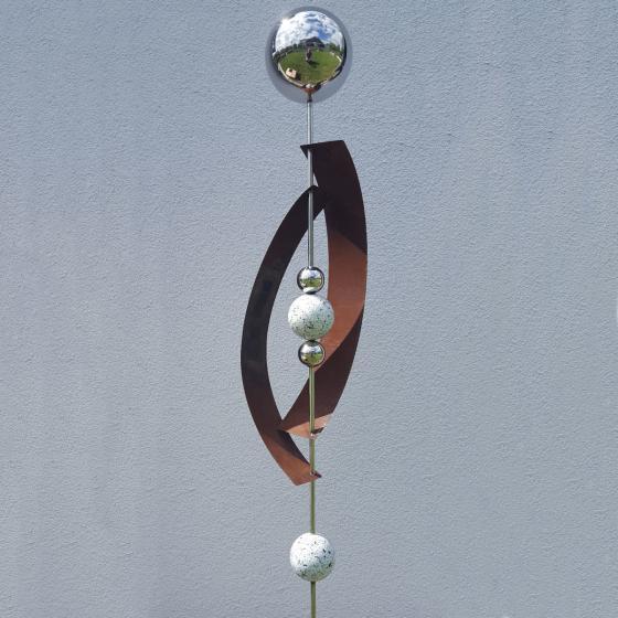 Beetstecker Deimos, Edelstahl, Silber | #2
