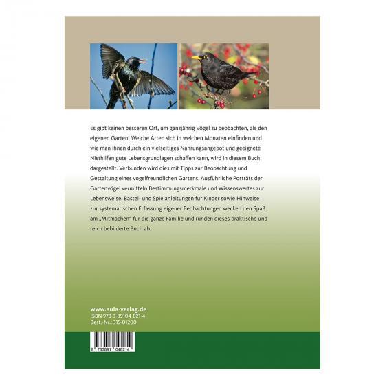Gartenvögel rund ums Jahr -  Beobachten - Füttern - Ansiedeln | #2