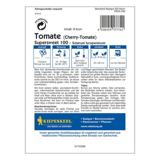 Tomatensamen Supersweet | #2