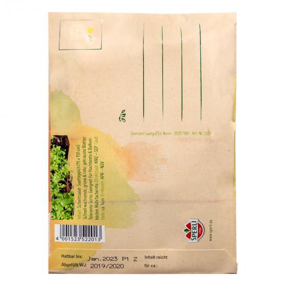 Saatgut Postkarte zum Verschicken - Saatteppich Salatmischung | #2