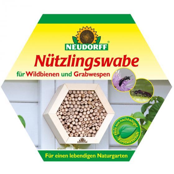 Insektenwabe für Wildbienen und Graswespen | #2