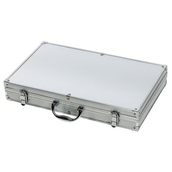 Grillbesteck-Set 24-teilig aus Edelstahl im Alu-Koffer | #2