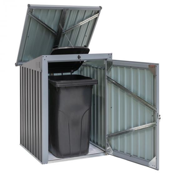 Mülltonnenbox 240l Stahlblech, 1er Box | #2